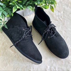 Teva coromar chukka black suede ankle boots 5